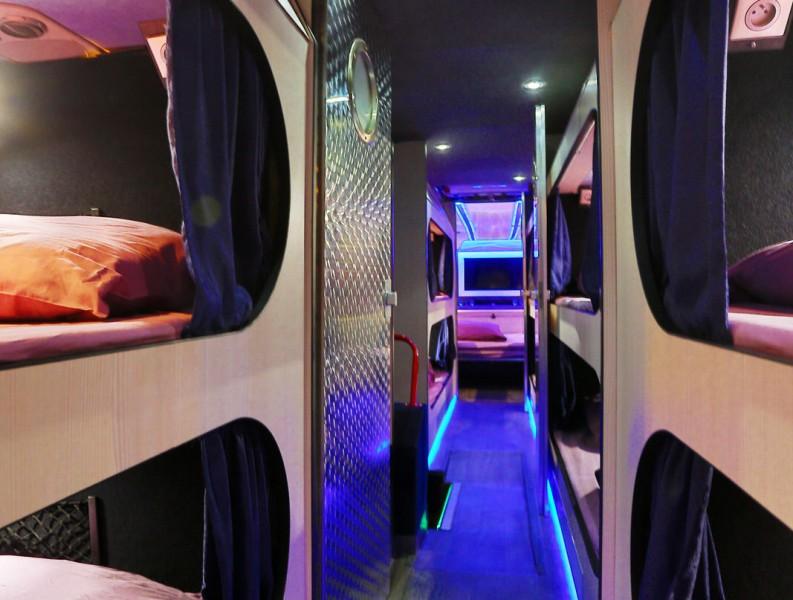 Tourbus Le Starnight